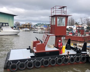 2018 25' X 14' X 4' Truckable Tug For Charter Only