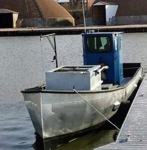 1990 36' x 9'3 x 4.2' Steel Trapnetter/Minnow Boat