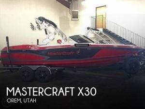 2016 Mastercraft X30