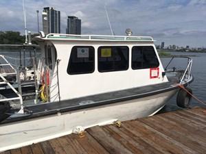 1989 Monark Work Boat Twin Screw
