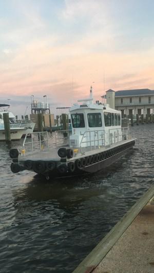 2020 44' x 10.5' Aluminum Crew Boat