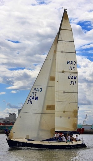 1985 CS Yachts Custom IOR One Ton 40