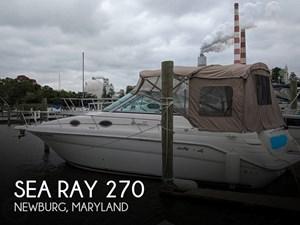 1998 Sea Ray 270 Sundancer