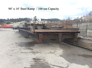 1984 Ramp 100  Ton Capacity