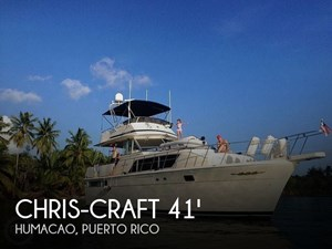 1987 Chris-Craft Constellation 410