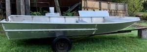2019 19'6 x 6'6 Aluminum Open Work Boat