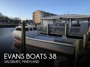 2015 Evans Boats 38 Custom Deadrise