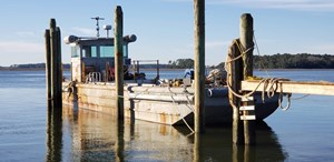 1987 1987 50′ x 14′ x 3′ Steel Work Boat/Cargo Tug - NEW PRICE
