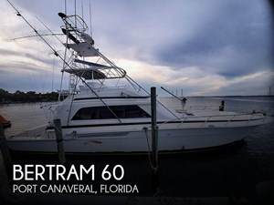 1991 Bertram 60 Convertible