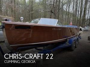 1953 Chris-Craft U22 Sportman