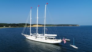1983 Palmer Johnson Tri-Masted Staysail