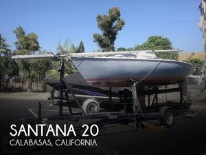 1977 Santana 20 Trailerable Sloop