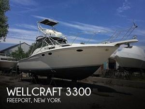 1989 Wellcraft 3300 Coastal