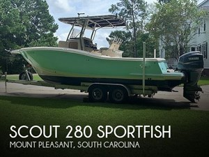 2006 Scout 280 Sportfish