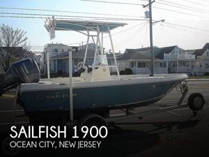 2014 Sailfish 1900 Bay Boat