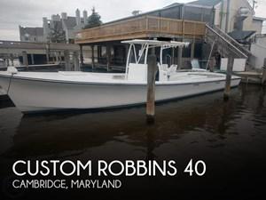 1999 Custom Robbins 40