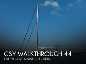 1980 CS Yachts Walkthrough 44