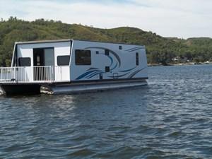 custom built houseboat 2020