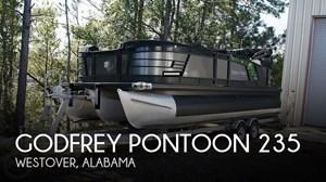 2018 Godfrey Pontoons Aqua Patio 235C
