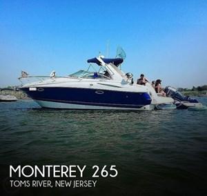 2003 Monterey 265 Sport Cruiser