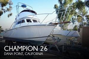 1985 Champion 26 Fish Hunter (Blackman)