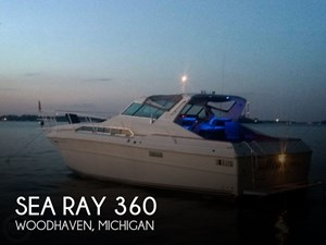1983 Sea Ray SRV 360 Express