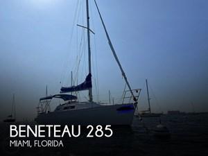 1988 Beneteau First 285 Wing Keel