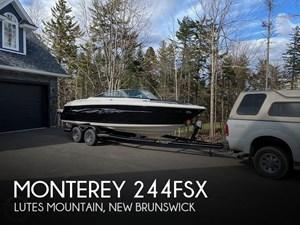 2011 Monterey 244 FSX