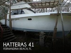 1965 Hatteras 41 Yacht Fish