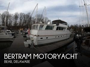 1972 Bertram 63 Motoryacht