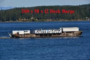 1968 Deck Barge Barge