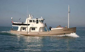 2008 Steel Expedition 65 Trawler Yacht