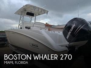 2007 Boston Whaler 270 Outrage