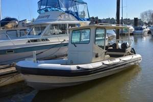 1999 Custom Aluminum Rigid hull inflatable
