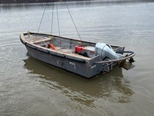 2015 2015 20′ Steel Workboats (2 available) w/Honda Power