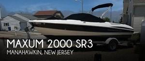 2008 Maxum 2000 SR3