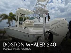 2018 Boston Whaler 240 Dauntless Pro