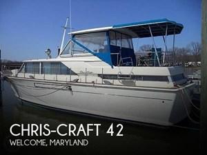 1968 Chris-Craft 42 Commander
