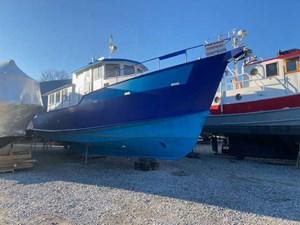 2000 Custom Steel Trawler 43 Trawler