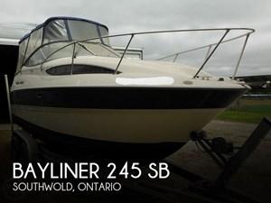 2004 Bayliner 245 SB