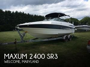 2006 Maxum 2400 SR3
