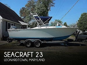 1973 SeaCraft 23
