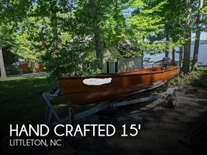 2005 Hand Crafted 15' Canadian Red Cedar