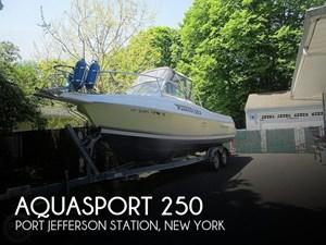 2002 Aquasport Explorer 250