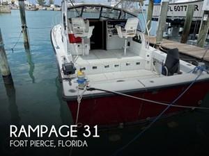 1989 Rampage 31 Sport Fisherman