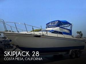 1984 Skipjack Sport Fisher 28