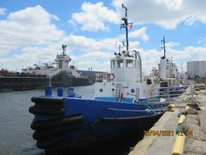 1967 84'6 x 23'11 Steel Harbour Tug 1300 hp