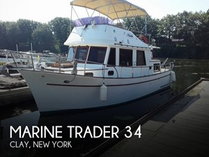 1977 Marine Trader Trawler 34