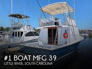 1983 #1 Boat Mfg 39 ( Key West)