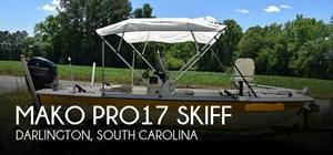 2016 Mako Pro17 skiff